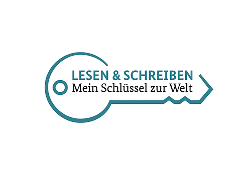 """Logo zur Kampagne """"Mein Schlüssel zur Welt"""""""