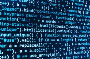 Das Bild zeigt eine Programmiersprache, mit der Maschinen miteinander kommunizieren.