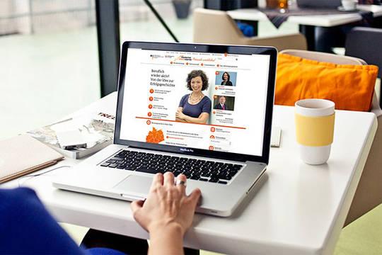 Online-Portal Perspektive Wiedereinstieg