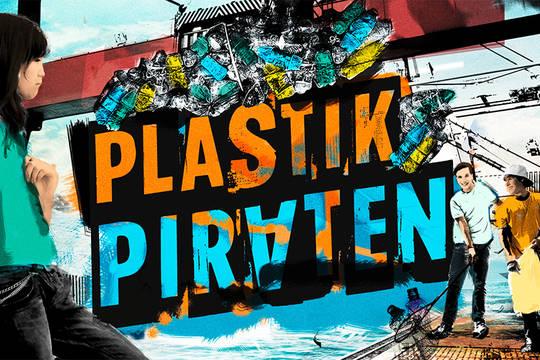 """Das Motiv der bundesweiten Citizen-Science-Aktion """"Plastikpiraten"""" für Jugendliche."""