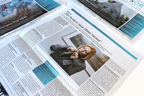 Hightech-Strategie Zeitungsbeilage Interview mit Johanna Wanka Bundesministerin für Bildung und Forschung