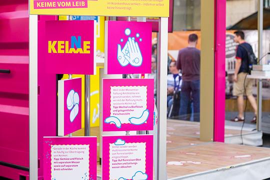 """KOMPAKTMEDIEN bereut """"Keine Keime"""", eine Initiative der Krankenhausgesellschaft Nordrhein-Westfalen e.V."""
