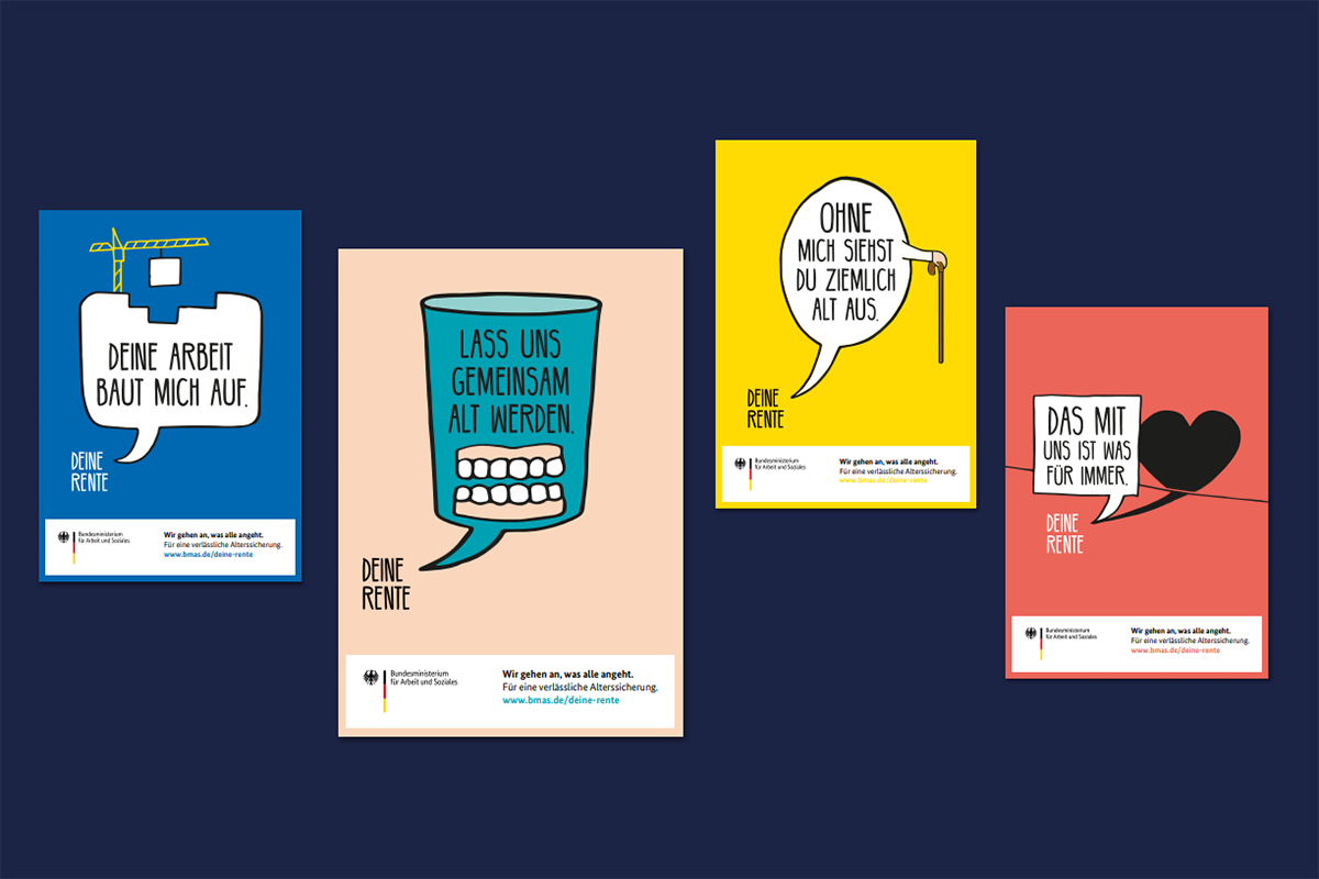 Informationskampagne: Deine Rente