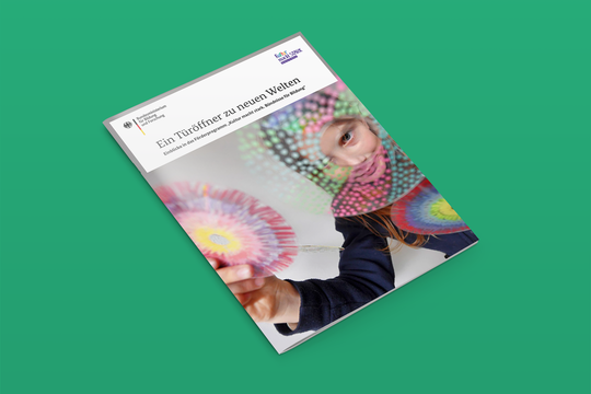 """Neue Broschüre aus dem BMBF-Programm """"Kultur macht stark"""""""