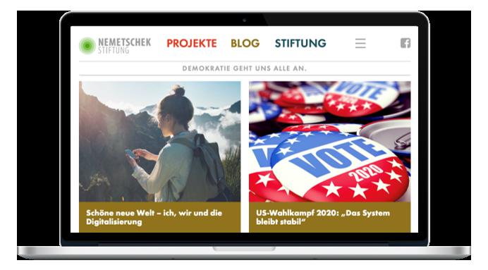 Kommunikation: Nemetschek Stiftung